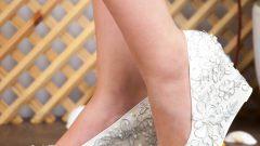 Dolgu Topuklu Gelin Ayakkabısı Modelleri-Detayları