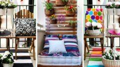 Küçük Balkonlar İçin 18 Harika Dekorasyon Örneği