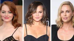 Omuz Hizasında Saçlar İçin Farklı Saç Modelleri
