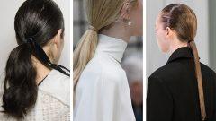 At Kuyruğu Saç Modelleri