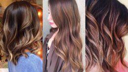 Sarı Kumral Koyu Saç Ombre Modelleri 2020-