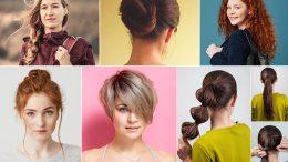 Okul İçin Kolay Saç Modelleri