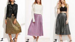 Pileli Etek Üzerine Ne Giyilir?