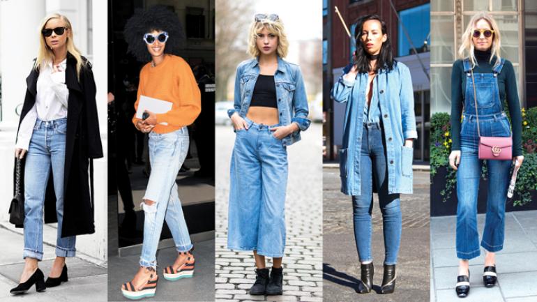 Kot Pantolon Kombinleri – Şık Jean Modeller