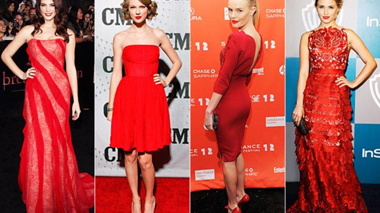 Kırmızı Elbisenin Altına Ne Renk Ayakkabı Giyilir?