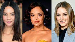 Omzu Açık Elbiseye Saç Modelleri