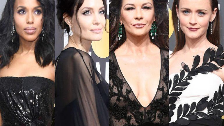 Siyah Elbise Saç Modelleri