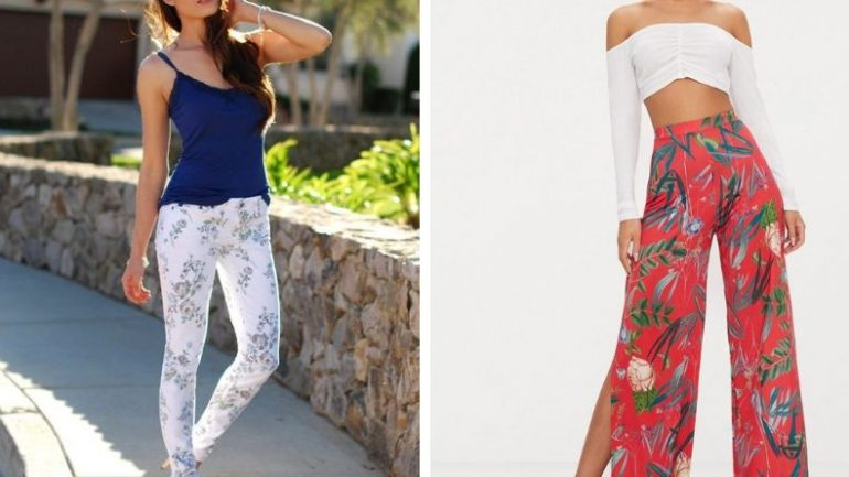 Desenli Pantolon Üzerine Ne Giyilir?