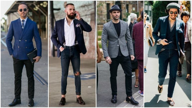 Siyah Pantolon Üzerine Ne Giyilir Erkek