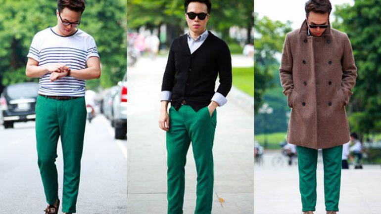 Yeşil Pantolon Üstüne Ne Giyilir Erkek