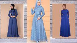 Mavi Elbiseye Hangi Renk Şal Gider?