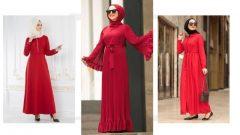 Kırmızı Elbise Üzerine Hangi Renk Eşarp