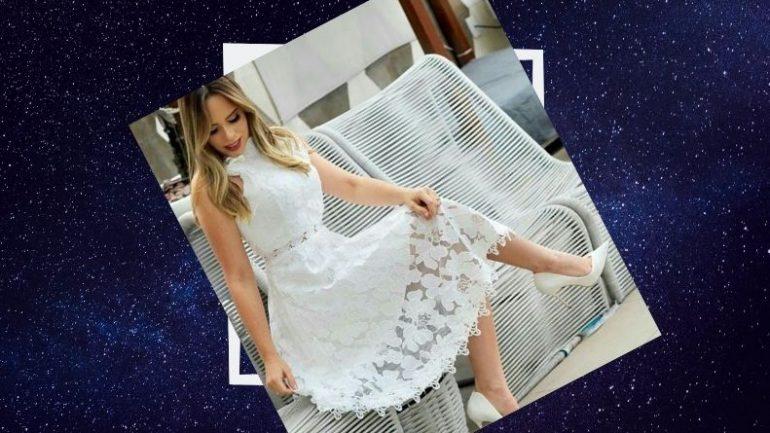 Beyaz Elbise Kombinleri
