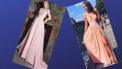Pudra Rengi Elbise Kombinleri