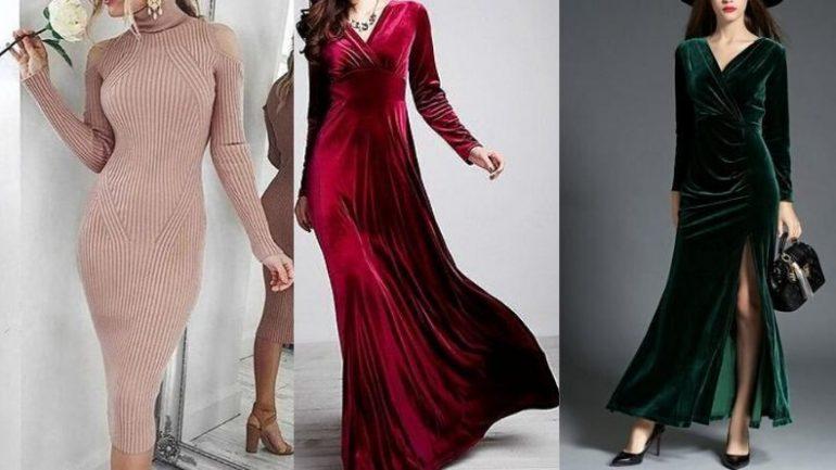 Kışlık Elbise Kombinleri