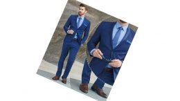 Mavi Takım Elbise Kombinleri