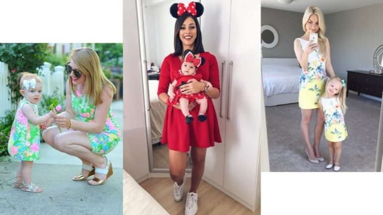 Anne Bebek Kıyafet Kombinleri