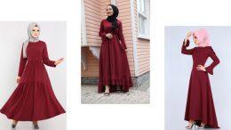 Bordo Elbiseye Hangi Renk Şal Olur?