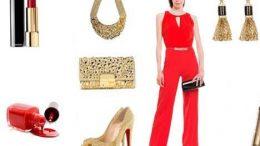 Kırmızı Tulum Modelleri