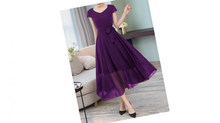 Şifon Elbise Kombinleri