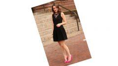 Siyah Mini Elbise Kombinleri