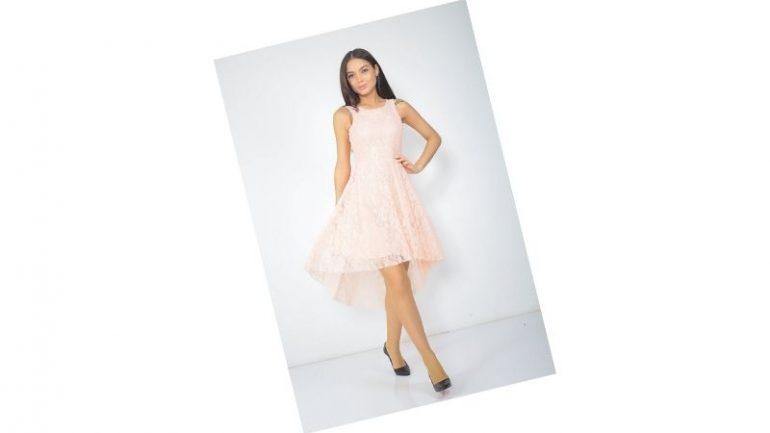 Somon Rengi Elbise Kombinleri