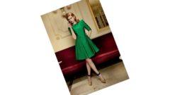 Yeşil Elbise Kombinleri