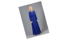 Saks Mavisi Elbiseye Ne Renk Şal Olur