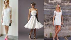 Beyaz Elbise Ayakkabı Kombinleri