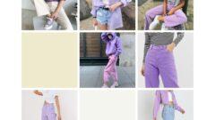 Mor İle Uyumlu Renkler Kıyafet-Mor Renk Kombinleri