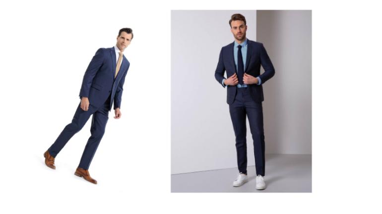 Lacivert Takım Elbise Kombinleri