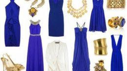 Saks Mavisi İle Uyumlu Renkler