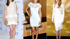 Beyaz Elbise Altına Ayakkabı