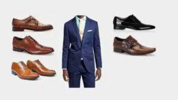 Lacivert Takım Elbise Ayakkabı