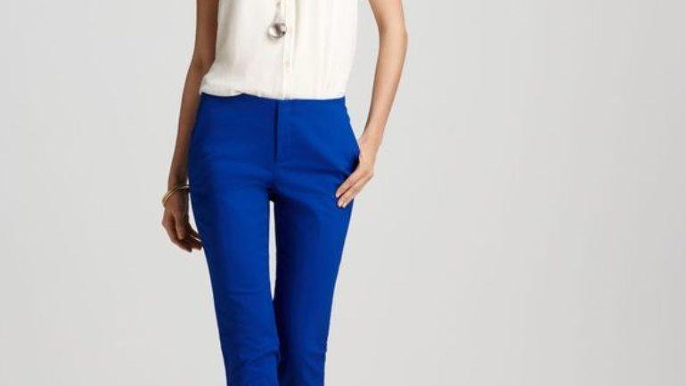 Mavi Pantolon Kombinleri Bayan