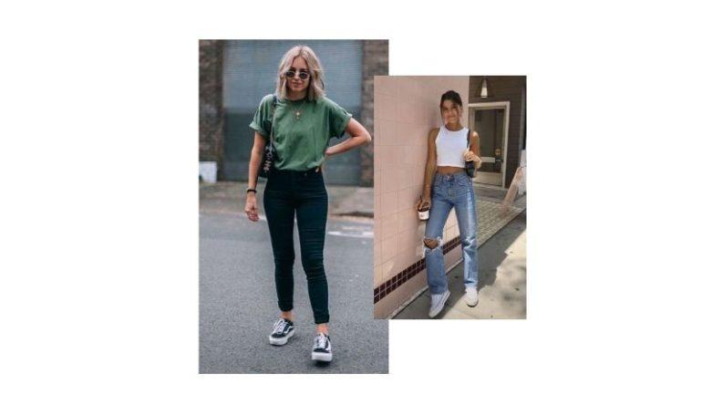 Pantolon Tişört Kombinleri Bayan