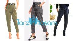 Havuç Pantolon Kombinleri 30+Stil