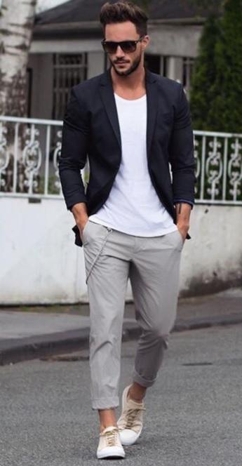 Blazer Ceket Ayakkabı Kombini