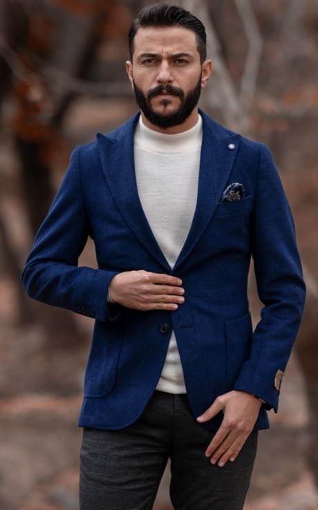 Erkek Blazer Ceket Kombinleri