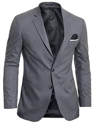 Erkek Blazer Ceket Nasıl Giyilir : Gri Çizgili
