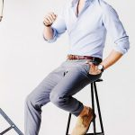 Erkek Giyim Kombinleri : Açık Renk Gömlek Kot