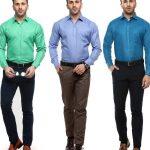 Erkek Giyim Kombinleri : Gömlek Pantolon
