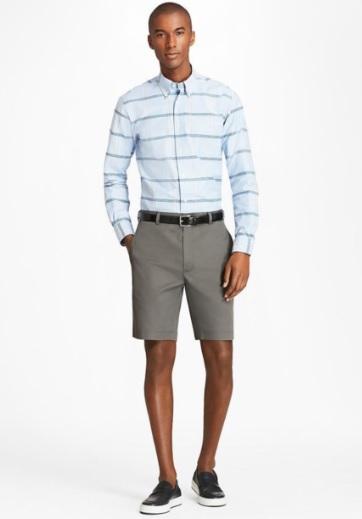Erkek Giyim Kombinleri : Şort Gömlek