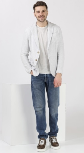 Erkek Jeans Pantolon Ceket Kombinleri