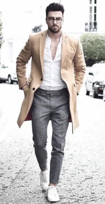 Erkek Kış Kombinleri : Ceket Pantolon