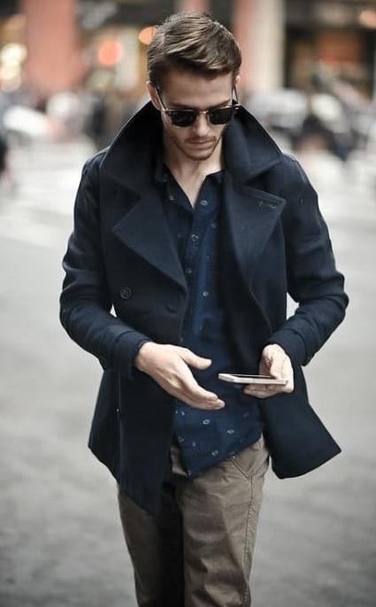 Erkek Kış Kombinleri : Koyu Renk