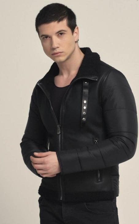 Erkek Kış Kombinleri : Man in Black Stili