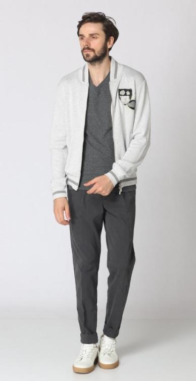 Erkek Kış Kombinleri : Sweatshirt Pantolon