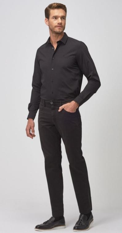 Erkek Siyah Renk Giyim Kombinleri