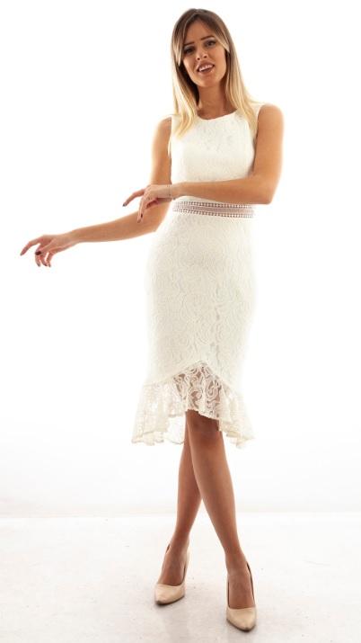 Kız İsteme Elbiseleri Beyaz